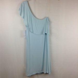 Love Fire Size M One Shoulder Dress Shift Ruffle